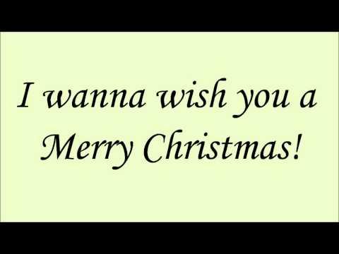 Glee - Feliz Navidad (Lyrics) HD