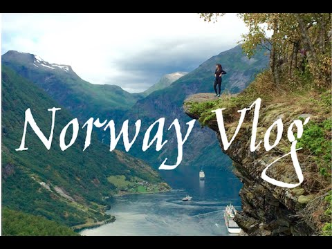 NORWAY: GEIRANGER HIKE AND SHOPPING IN BERGEN!