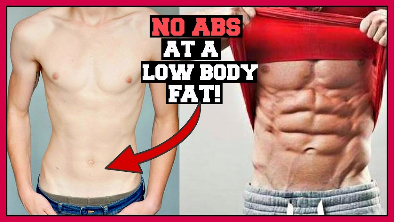 Why You Will Never Have Six Pack Abs At A Low Body Fat