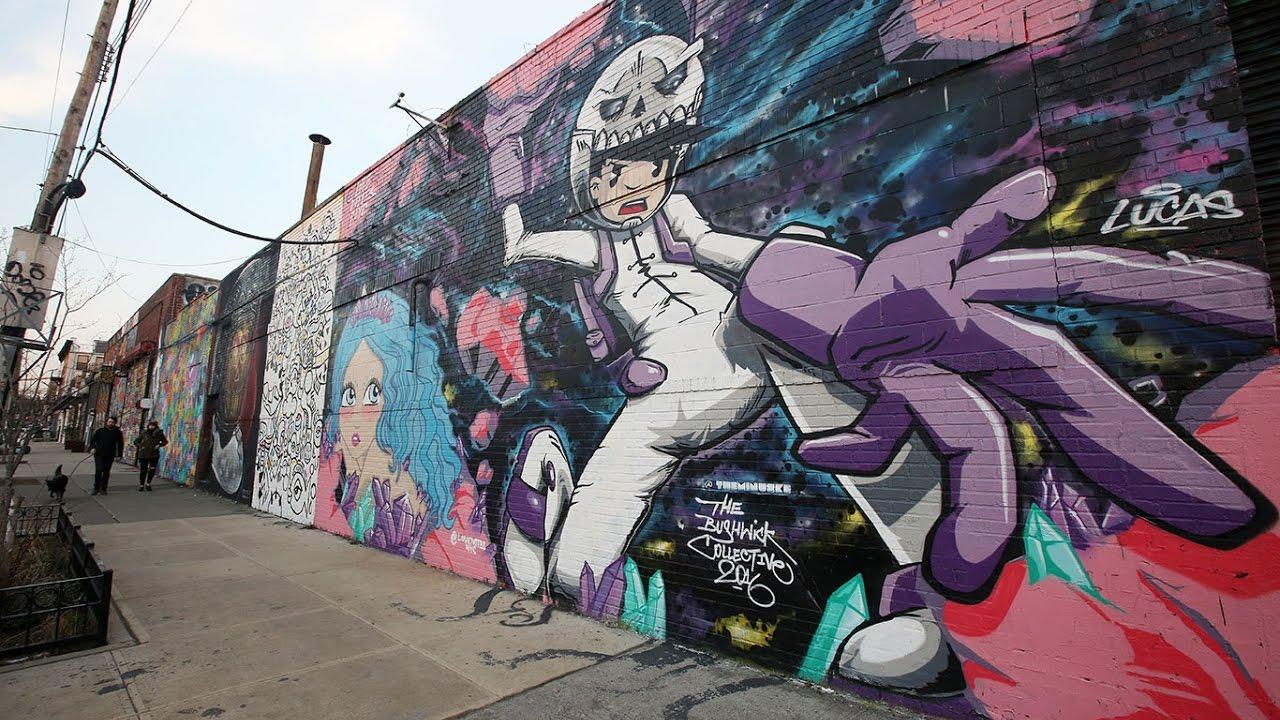 Bushwick graffiti tour