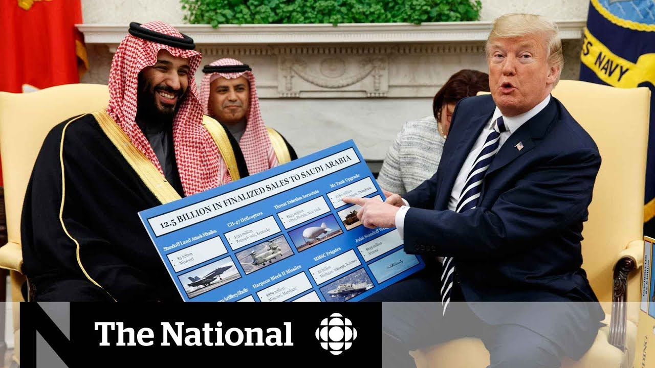 Download Mohammed Bin Salman pitches Saudi business to Trump