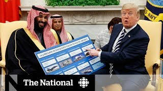 Mohammed Bin Salman pitches Saudi business to Trump