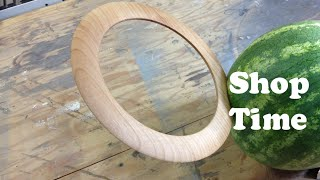 How To Make A Wooden Chakram. Circle of Death