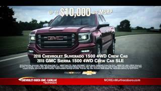 Chevrolet Buick GMC  Cadillac of Murfreesboro - First Big Sale of the Year!