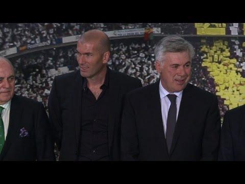 Zidane vai ser auxiliar de Ancelotti no Real