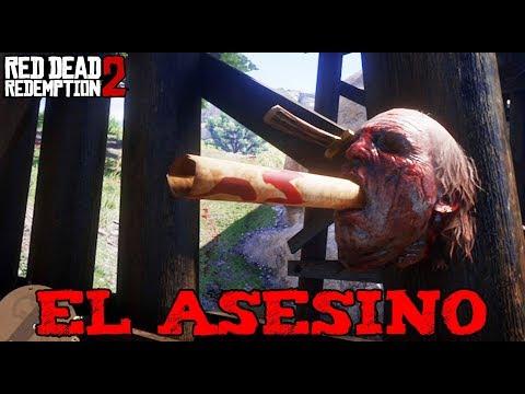 RED DEAD 2 - EL MISTERIO DEL ASESINO CANÍBAL 😰😱 (Easter Egg) - Nexxuz
