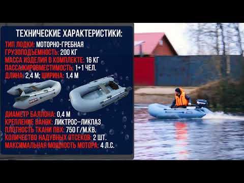 Надувная лодка Хантер 240  - обновление модели ...