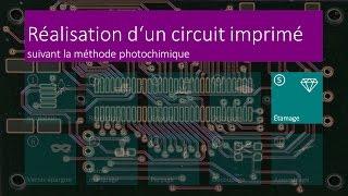 Réalisation d'un circuit imprimé - 05 Étamage - FR