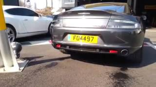 Aston Martin Rapide S Start up and Rev