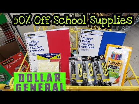 6 Items For $5 At Dollar General