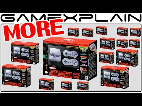 Nintendo to Produce More Super NES Classics Than NES Classics, But 2017 Only