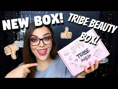 NEW UNBOXING! Is it Worth it?! My First Tribe Beauty Box Unboxing! October 2018