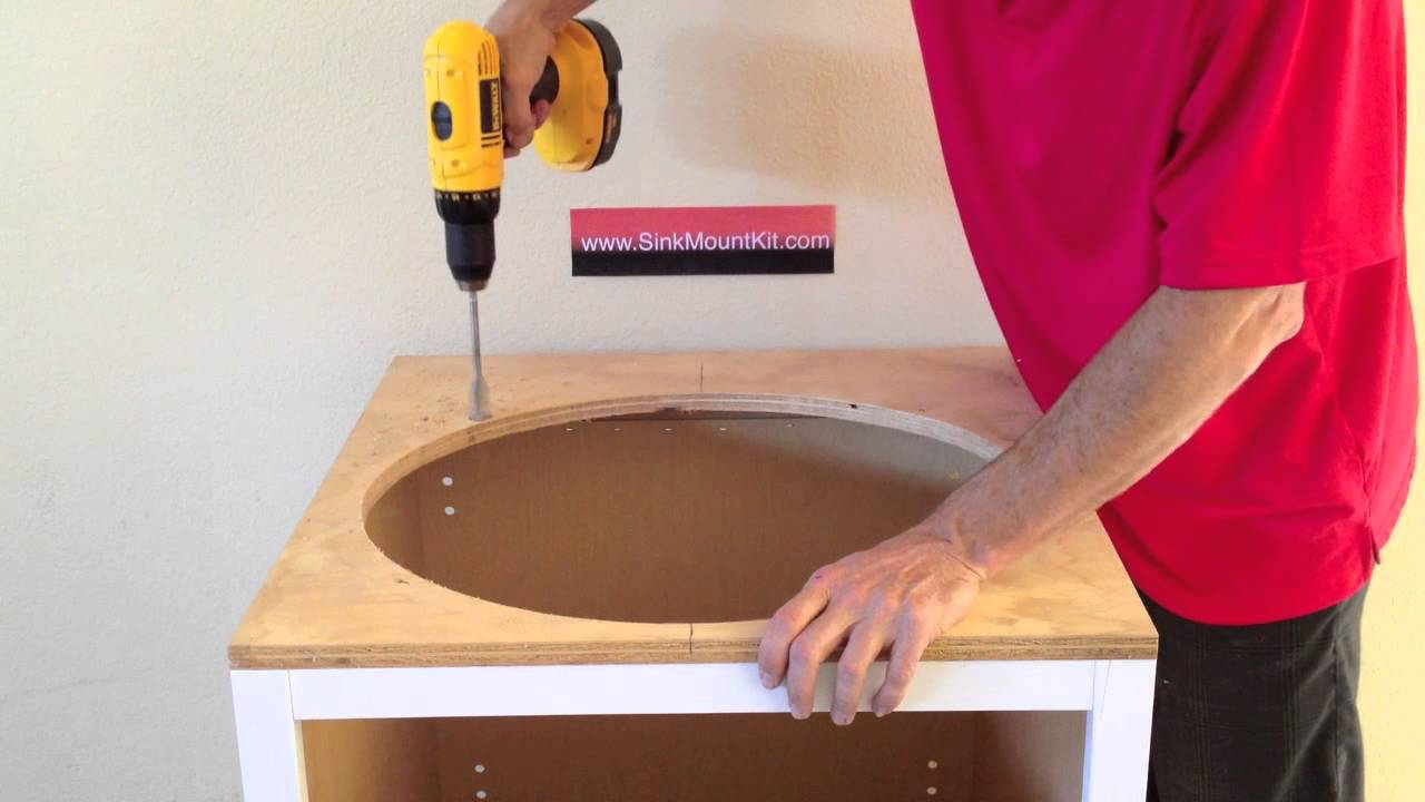 Undermount Bathroom Sink Clips how to install undermount sinks - youtube