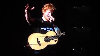 Video Ed Sheeran - Dive: ÷ Tour in Montreal (07/19/2017) download MP3, 3GP, MP4, WEBM, AVI, FLV Januari 2018