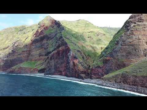 Madeira 4K - Achadas Da Cruz - Drone Footage