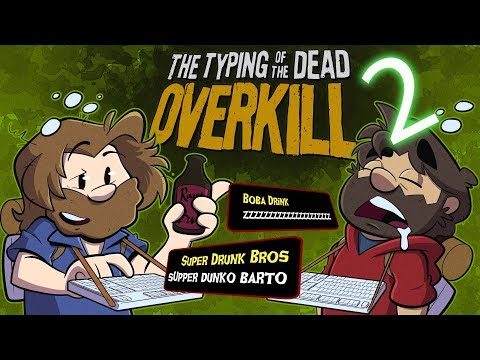 Typing of the Dead: Overkill Let's Play #2 - Hospitality Fatality