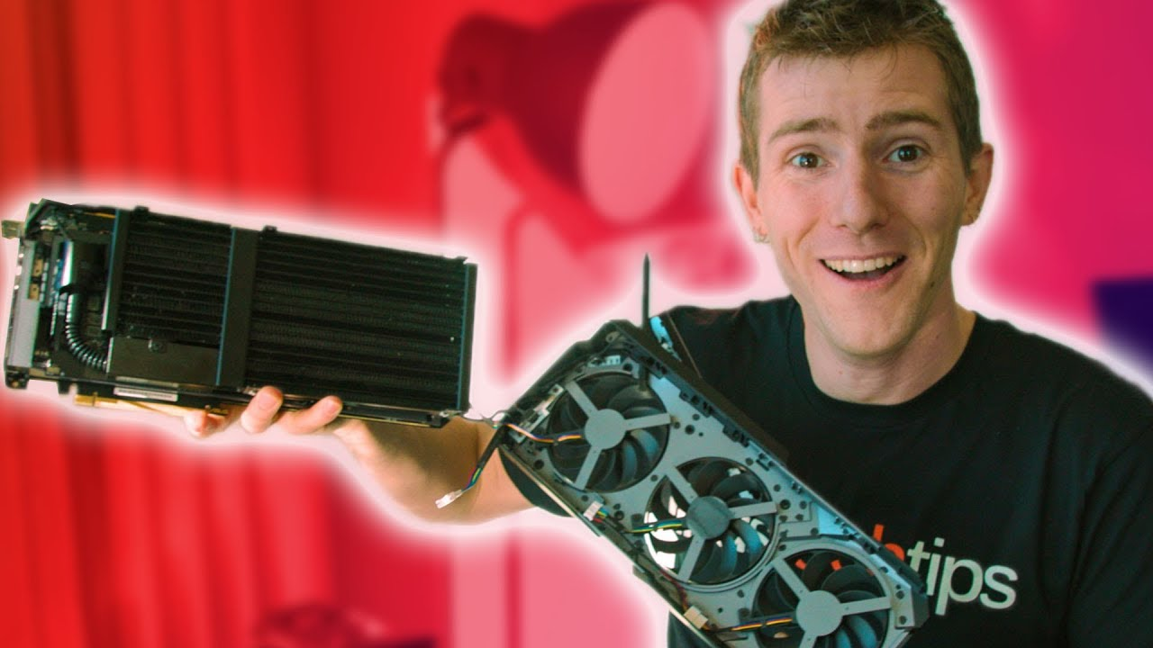 ASUS left us unsupervised with their water cooled graphics card...