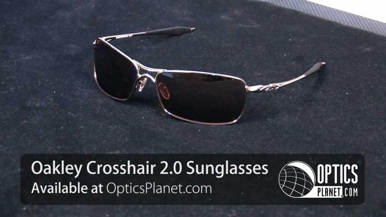 19709de95f Oakley Crosshair 2.0 Sunglasses - OpticsPlanet.com - YouTube
