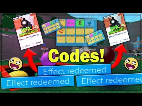 Epic Minigames Codes – Roblox (September 2019) – Mejoress
