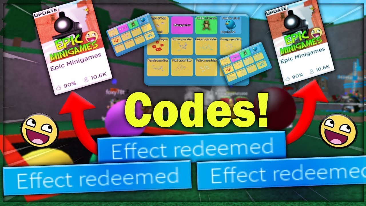 Epic Minigames Codes Full List March 2021 We Talk About Gamers