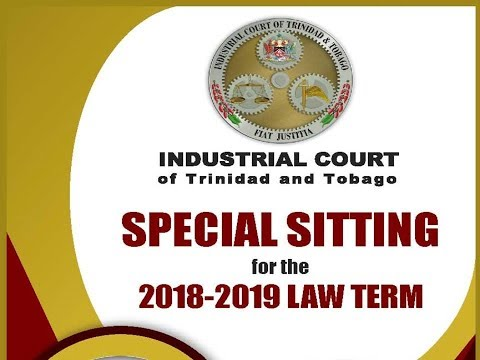 2018/2019 Special Sitting of the Industrial Court