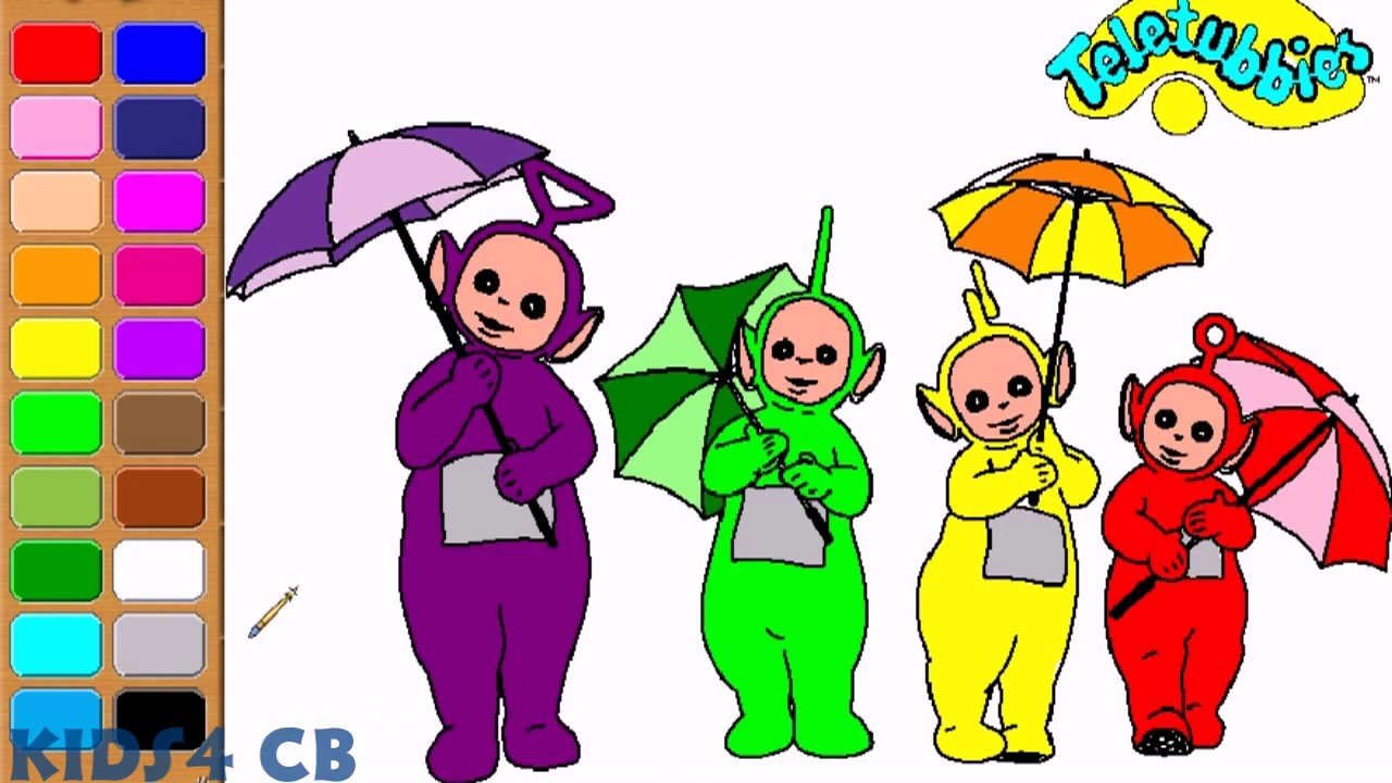 - Teletubbies Coloring Book - YouTube