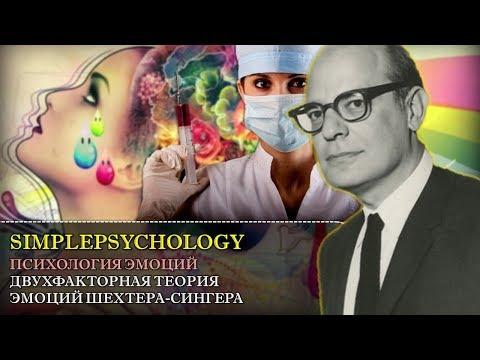 Когнитивная психология эмоций #57. Двухфакторная теория эмоций Шехтера-Сингера.