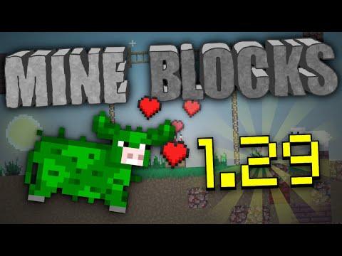 Mine Blocks 1.29 Update! - 2D Minecraft