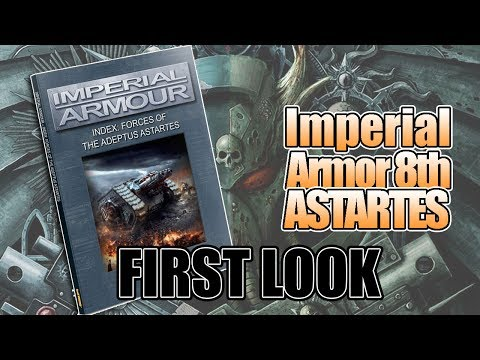 New Space Marines Top 5 Imperial Armor 8th Rules: First Look