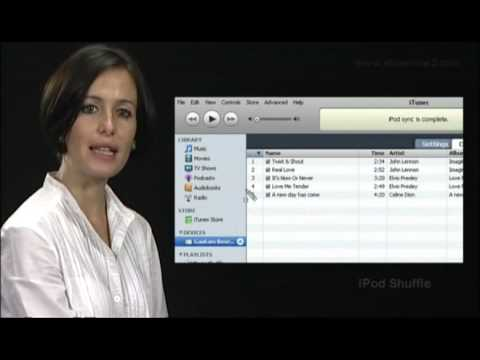 iPod Shuffle (Spanish) - Autorellenar la música en iPod shuffle.