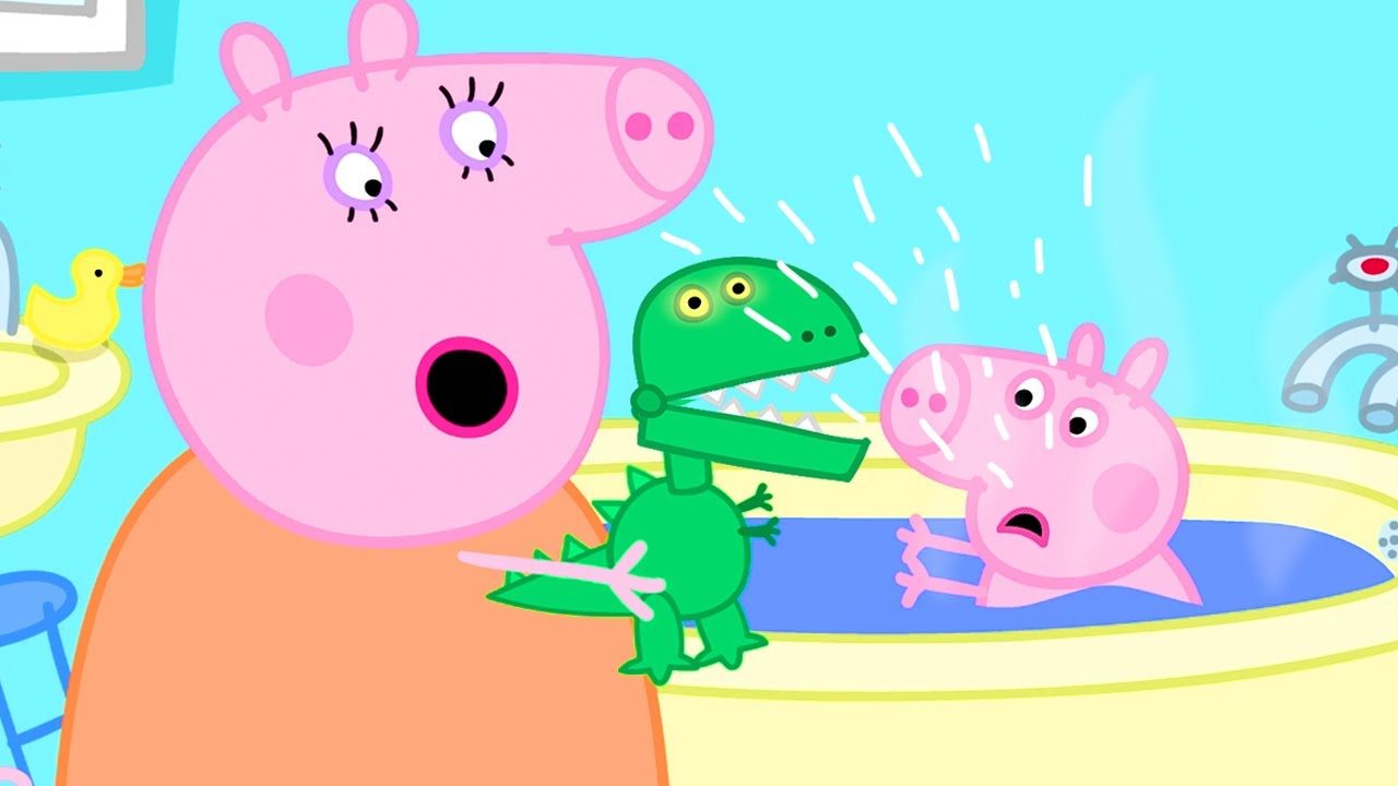 Download Peppa Pig Official Channel 🦖 George Can't Play with His New Dinosaur