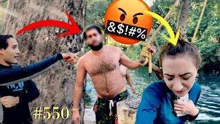 SEÑOR LE DICE COSAS FEAS A PAO *fue por defender a Mike* TODO QUEDÓ GRABADO / #AmorEterno 550