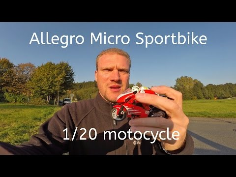 Allegro // Micro // Sportbike // 1/20 // Motocycle // 2,4 Ghz // RC Bike
