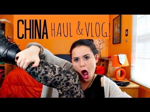 CHINA HAUL & VLOG!!