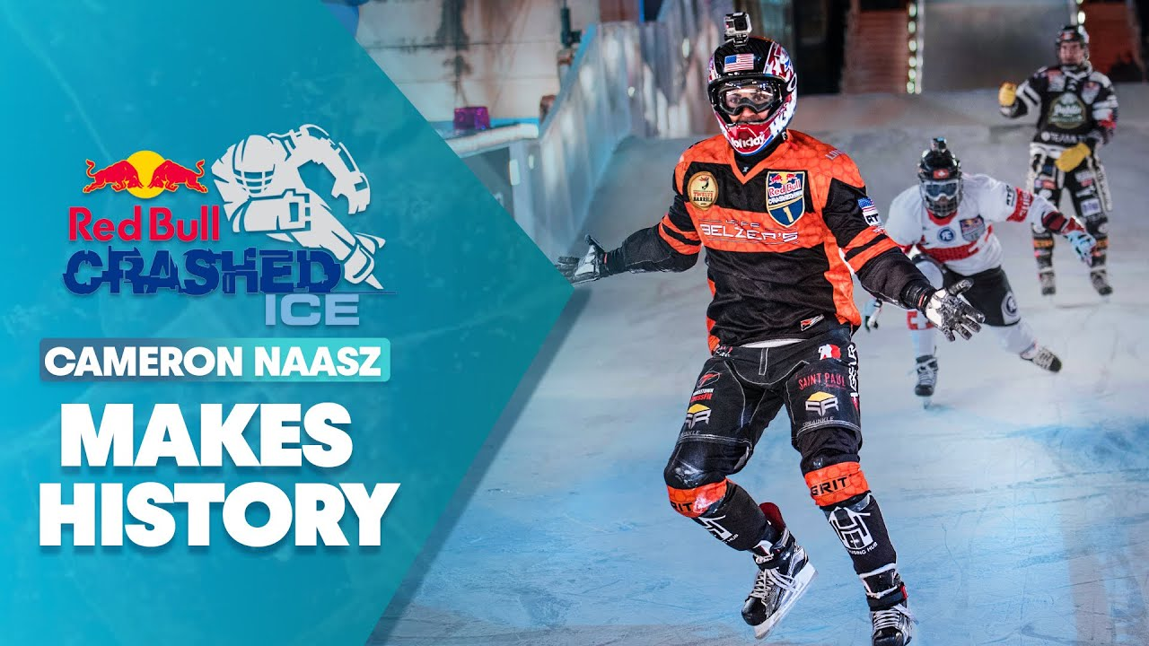 Download Cameron Naasz Makes History In Canada | Men's Final | Red Bull Crashed Ice 2017