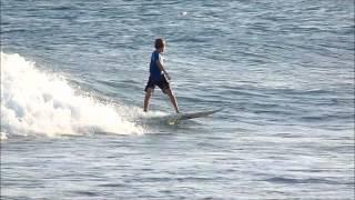 session surf Maxime Clément et Erwann Petit Havre juin 2012