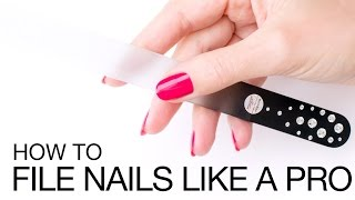 How To File Nails For the Perfect Oval Nail Shape