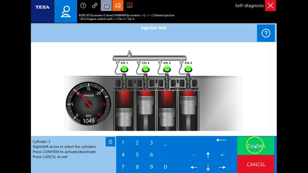 Yanmar Engine Dealer Level Diagnostics with Diesel Laptops