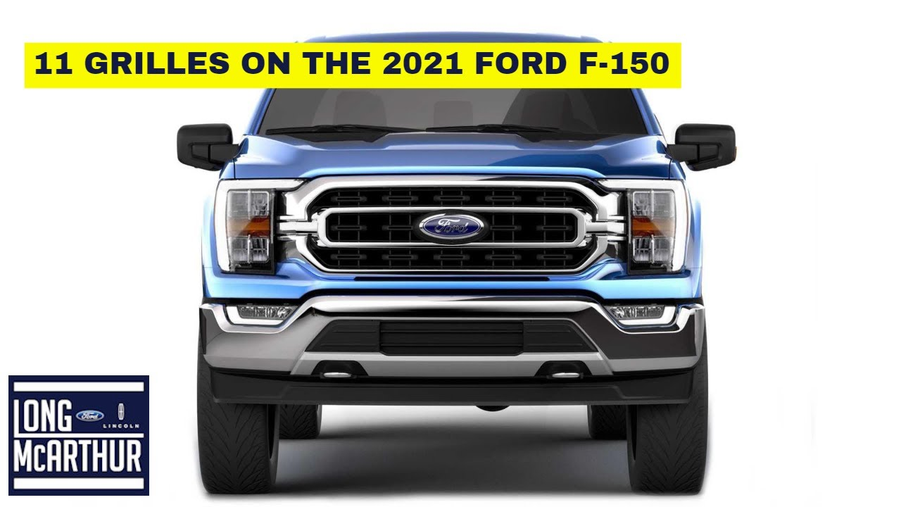11 GRILLES OF THE 2021 FORD F-150