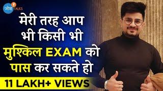 कैसे CRACK किया पहली बार में CA EXAM? | CA Vivek Gaba | Josh Talks Hindi