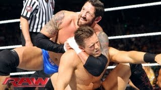 The Miz & Chris Jericho vs. Wade Barrett & Fandango: Raw, May 20, 2013