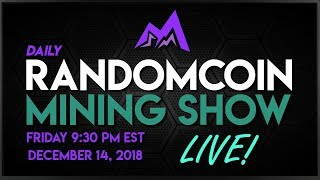 RandomCoin Mining Show LIVE! ⛏ - Ombre (OMB) - Cryptonight-Heavy + Bitcoin Diamond (BCD) - X13BCD