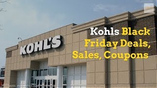 Kohls Black Friday Deals, Sales, Coupons  2018