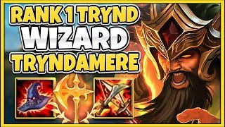 #1 TRYNDAMERE WORLD SEASON 10 AP TRYND BUILD! (ONE-SHOT SPINS) - League of Legends