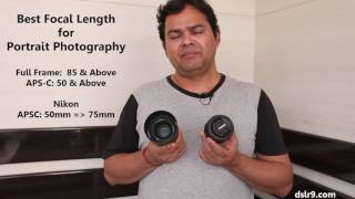Best Focal Length for Portrait Photography (Hindi)