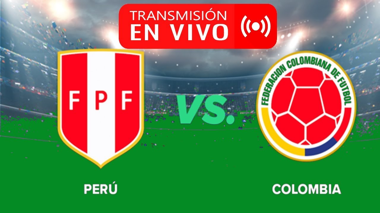 Colombia vs. Per EN VIVO ONLINE por el amistoso fecha FIFA
