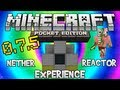 Minecraft Pocket Edition - Experiencing The Nether Reactor (How To Build The Nether Reactor)