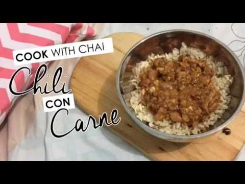 Cook with Chai: Chili con Carne