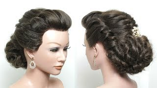 Perfect Messy Bun. Updo Hairstyle For Long Hair Tutorial