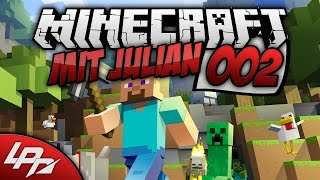 MINECRAFT MIT JULIAN Part 2 - Straße voller Action (XboxOne/FullHD) / Lets Play Minecraft